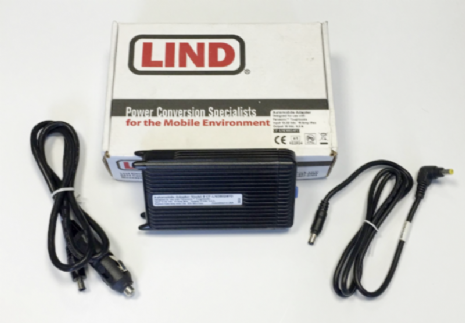 Lind CF-LND8024FD Panasonic Toughbook 12-32 Vdc Car Charger - New | Go-Rugged